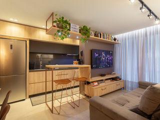 Cassiana Rubin Arquitetura Industrial style kitchen