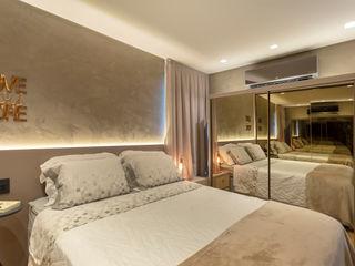 Cassiana Rubin Arquitetura Industrial style bedroom