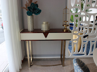 ADN Furniture Ingresso, Corridoio & ScaleCassettiere & Scaffali MDF Variopinto