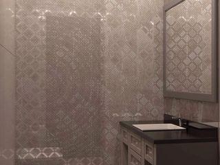 """Проект студии """"Ар-деко по-американски"""" Технологии дизайна Ванная комната в эклектичном стиле"""