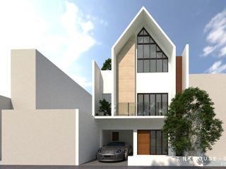 Apapa Studio Rumah tinggal Beton White