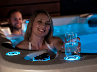 Vortex Whirlpools - Entspannung auf dem Vormarsch SPA Deluxe GmbH - Whirlpools in Senden Moderner Garten