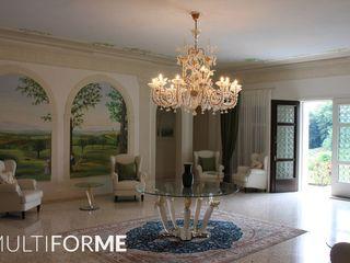 MULTIFORME® lighting Ruang Keluarga Klasik