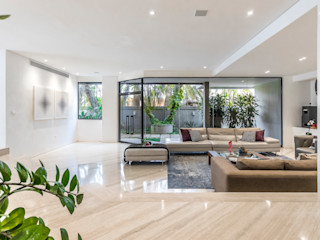 CASA CA Design Group Latinamerica Salas de estilo moderno