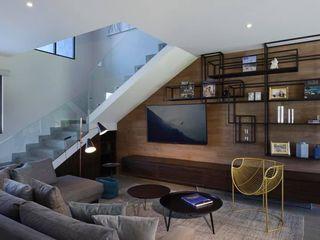 Concepto Taller de Arquitectura Salas modernas Gris