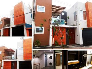 Diseño Integral y Construcción S.A.C. Single family home Concrete Wood effect