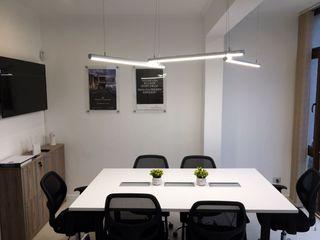 GB Arquitectura مكتب عمل أو دراسة ألواح خشب مضغوط White
