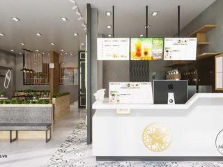 Mẫu thiết kế nội thất trà sữa Tocotoco Nha Trang NEOHouse
