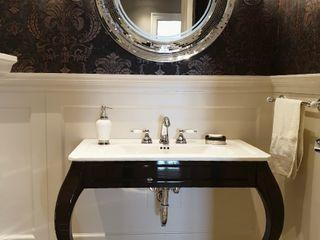 Sariyer Yali dairesi misafir wc.2019.. Berfudesign Kolonyal Banyo