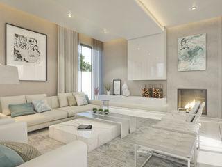 Dessiner Interior Architectural Salones de estilo ecléctico