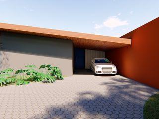 Lozí - Projeto e Obra Moderne Häuser