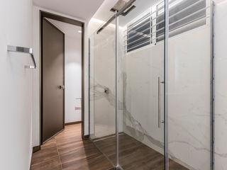 APTO CDP A21 Design Group Latinamerica Pasillos, vestíbulos y escaleras de estilo moderno
