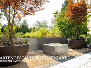 VILLENGARTEN STUTTGART GEMPP GARTENDESIGN - Gartenplanung Gartengestaltung Landschaftsbau Moderner Garten