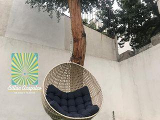 Columpio Capullo tejido cerrado SILLAS ACAPULCO ESTILO RETRO JardínColumpios y zonas de juego