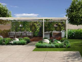 Verde Progetto - Adriana Pedrotti Garden Designer Front garden White