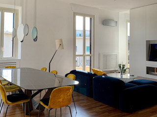 Casa Chiana Arabella Rocca Architettura e Design Soggiorno moderno