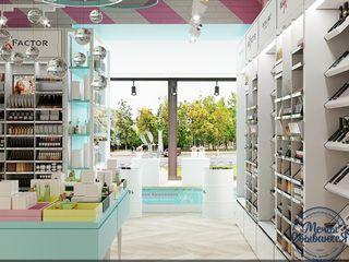 Компания архитекторов Латышевых 'Мечты сбываются' Salas multimédia minimalistas