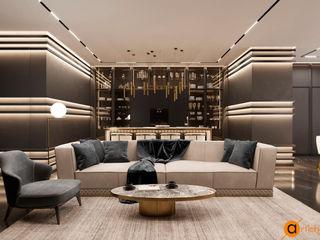 Artichok Design Ruang Keluarga Modern