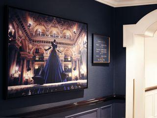 INTERCONTINENTAL - PARIS LE GRAND Ludovic Baron Artiste Photographe ArtPhotos et illustrations Bleu