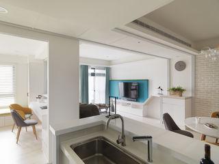 高CP值,自然簡約的北歐風居家 昱承室內裝修設計 客廳