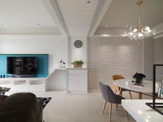 高CP值,自然簡約的北歐風居家 昱承室內裝修設計 牆面