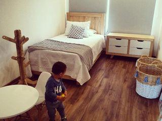 Taller Carpintería Massive Quartos dos meninos Madeira maciça Efeito de madeira