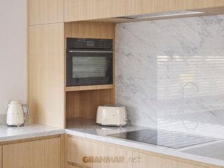 Klasyczny marmur Bianco Carrara GRANMAR Borowa Góra - granit, marmur, konglomerat kwarcowy KuchniaBlaty Marmur Biały