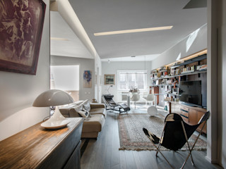 studioQ Ruang Keluarga Gaya Eklektik