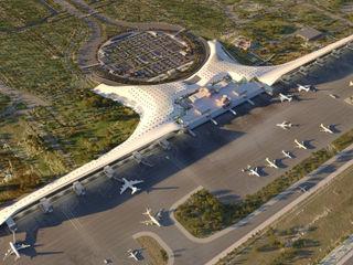 Nuevo Aeropuerto de Lahore. Pakistan GilBartolome Architects Aeropuertos de estilo moderno