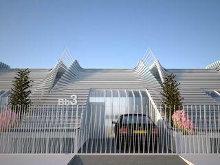 Viviendas Adosadas en Málaga GilBartolome Architects Casas adosadas