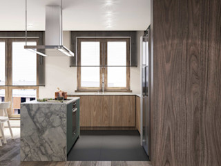 MIKOŁAJSKAstudio Dapur Modern