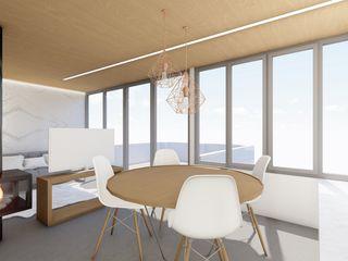 Barreres del Mundo Architects. Arquitectos e interioristas en Valencia. Moderne Esszimmer Beton Grau