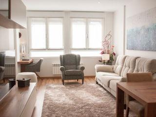 Reforma Renteria, sala, dormitorios, juveniles MUEBLES DG SalonesSofás y sillones
