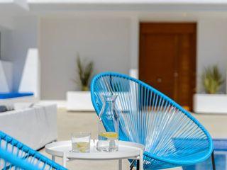 Reforma Vivienda Unifamiliar con piscina en la Costa Brava (Gerona), amueblamiento, decoración e iluminación CREAPROJECTS. Interior design. Casas unifamilares