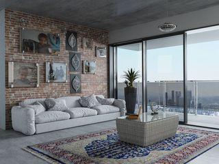 Teckhome s.r.l. Modern Windows and Doors Aluminium/Zinc Grey