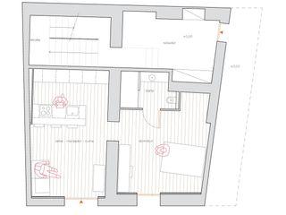 Reforma de pisos de lujo en l'Ametlla del Vallès Esteve Arquitectes Casas multifamiliares Madera Acabado en madera