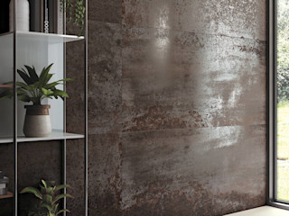 Dimensione Edilizia Eclectic style walls & floors Tiles Metallic/Silver