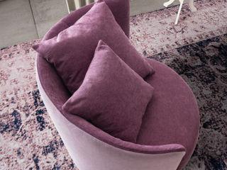 Poltroncine-UN TOCCO DI COLORE - L&M design di Marelli Cinzia Soggiorno moderno Rosa
