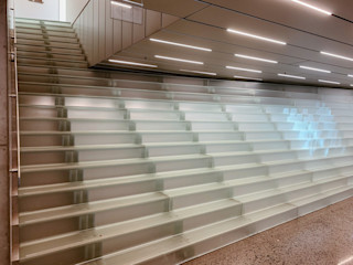 Siller Treppen/Stairs/Scale 博物館 玻璃 Transparent
