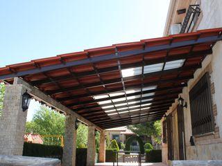 Roofeco System SL Pultdach Plastik Transparent