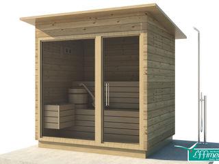 BioSauna Effimera Beauty Wellness Spa SpaAccessori per Piscina & Spa Legno massello Effetto legno