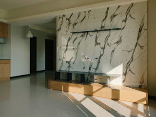 木皆空間設計 Salones de estilo minimalista