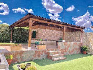 Roofeco System SL Moderner Balkon, Veranda & Terrasse Plastik Schwarz