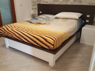 Gli Artigiani dei f.lli M.& S. Cordi snc BedroomBeds & headboards Wood White