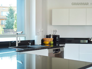 Granit Absolut Black GRANMAR Borowa Góra - granit, marmur, konglomerat kwarcowy KuchniaBlaty Granit Czarny