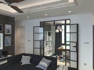Nelson W Design Estudios y despachos de estilo moderno Derivados de madera Blanco