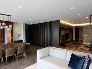 ARCO Arquitectura Contemporánea Modern corridor, hallway & stairs