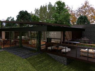 Projeto Sítio Élcio Bianchini Projetos Casas rústicas