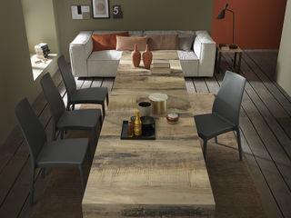 Lo spazio è poco? Fai sparire il tavolo! Mobili a Colori Sala da pranzo moderna Legno Effetto legno
