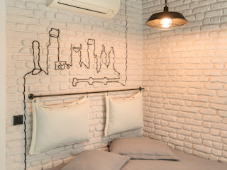 Mimoza Mimarlık Eclectic style bedroom